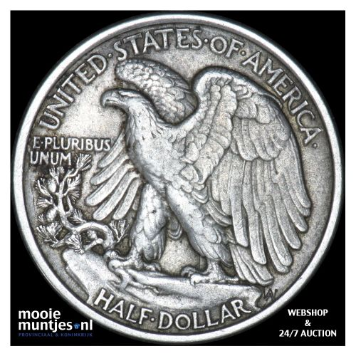 half dollar - walking liberty - United States of America 1920 (KM 142) (kant B)