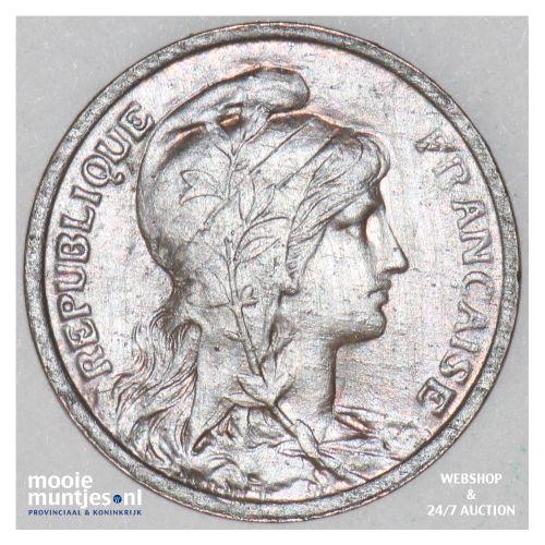 centime - France 1909 (KM 840 ) (kant B)