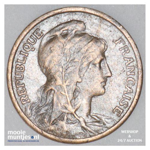 centime - France 1911 (KM 840 ) (kant B)
