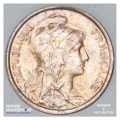 centime - France 1912 (KM 840 ) (kant B)