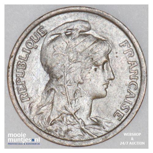 centime - France 1916 (KM 840 ) (kant B)