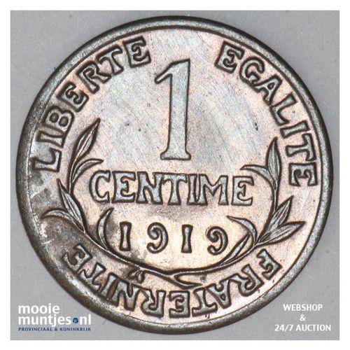 centime - France 1919 (KM 840 ) (kant A)