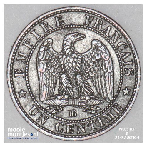 centime - France 1853 BB (Strasbourg) (KM 775.3) (kant B)