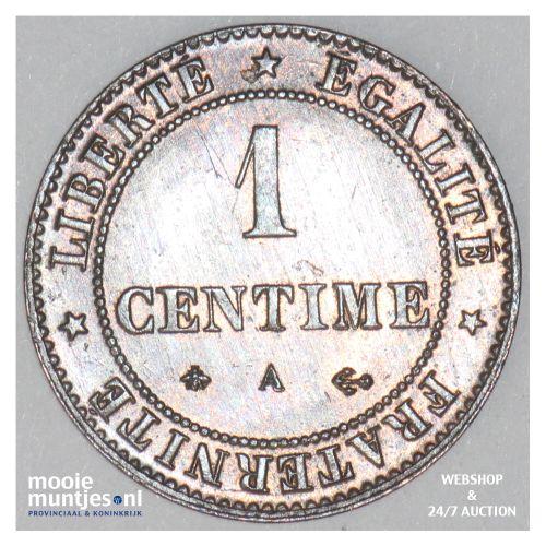 centime - France 1878 A (Paris) (KM 840) (kant B)