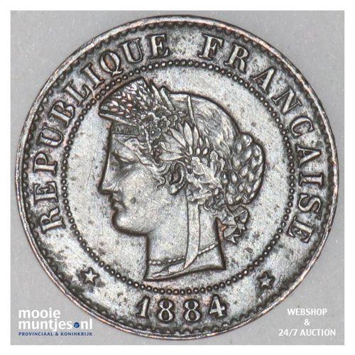 centime - France 1884 A (Paris) (KM 840) (kant A)
