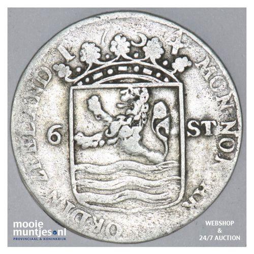 Zeeland - Scheepjesschelling - 1754 (kant A)