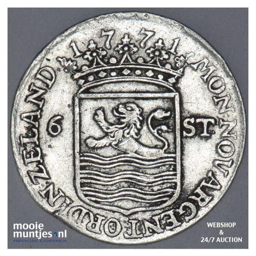 Zeeland - Scheepjesschelling - 1771 (kant A)