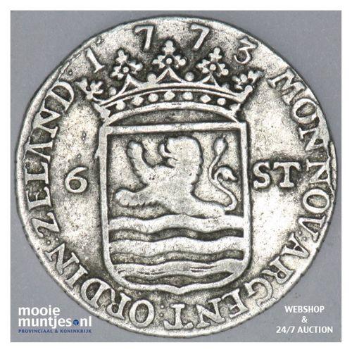 Zeeland - Scheepjesschelling - 1773 (kant A)