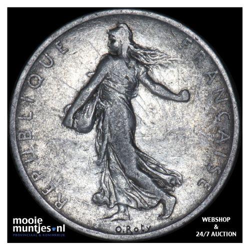 2 francs - France 1904 (KM 845.1) (kant B)
