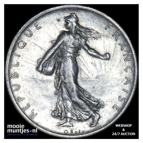 2 francs - France 1912 (KM 845.1) (kant B)