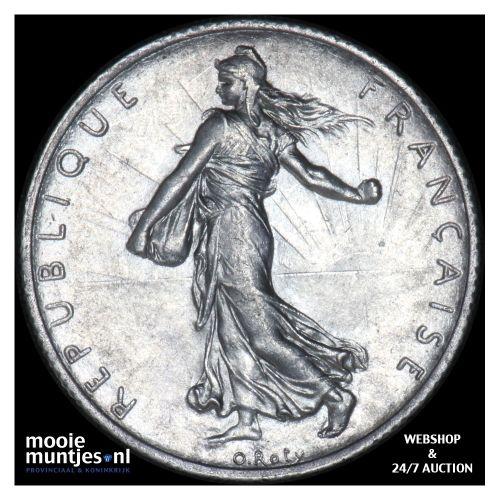 2 francs - France 1914 (KM 845.1) (kant B)