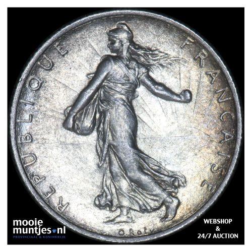 2 francs - France 1919 (KM 845.1) (kant B)