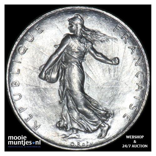 2 francs - France 1920 (KM 845.1) (kant B)