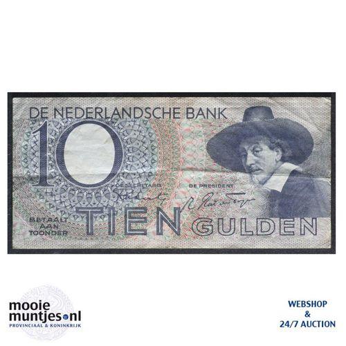 10 gulden  - 1943 (Mev. 44-1 / AV 33) (kant A)