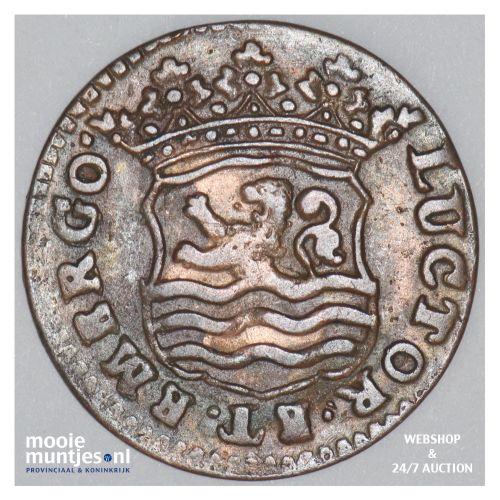 Zeeland - Duit - 1740 (kant B)