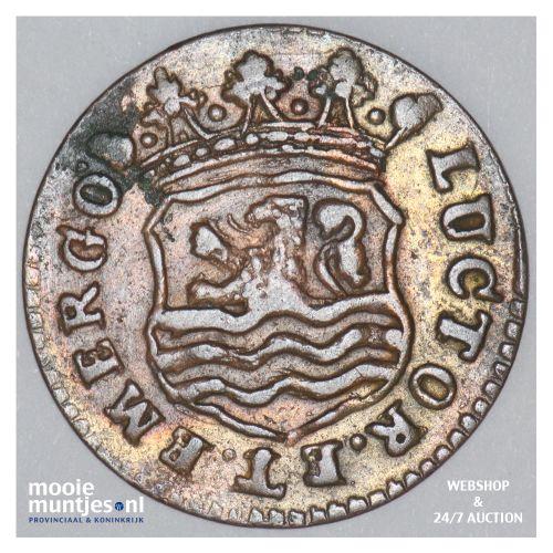 Zeeland - Duit - 1748 (kant B)
