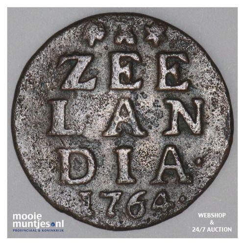 Zeeland - Duit - 1764 (kant A)