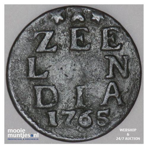 Zeeland - Duit - 1765 (kant A)