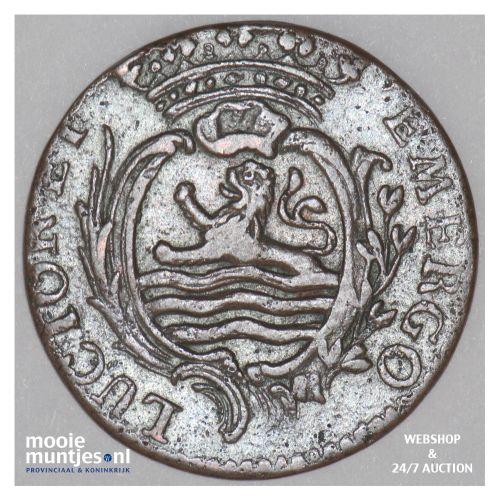 Zeeland - Duit - 1767 (kant B)