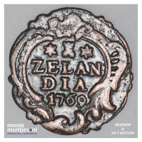 Zeeland - Duit - 1769 (kant A)
