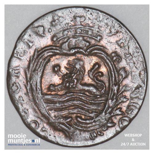 Zeeland - Duit - 1780 (kant B)