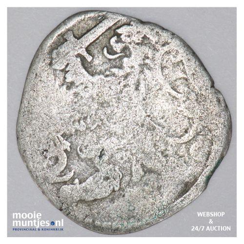 Zeeland - Dubbele stuiver - 1670 (kant B)