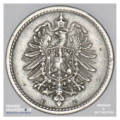 5 pfennig - Germany 1875 E (KM 3) (kant B)