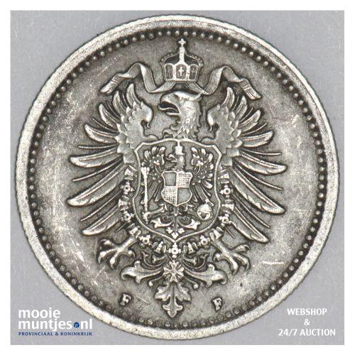 50 pfennig - Germany 1875 F (KM 6) (kant B)