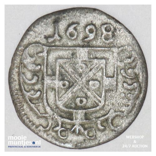 1/2 petermenger - German States/Trier 1698 (KM 186) (kant A)