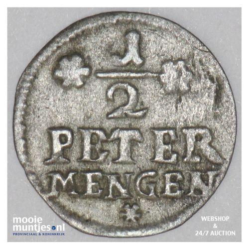 1/2 petermenger - German States/Trier 1698 (KM 186) (kant B)