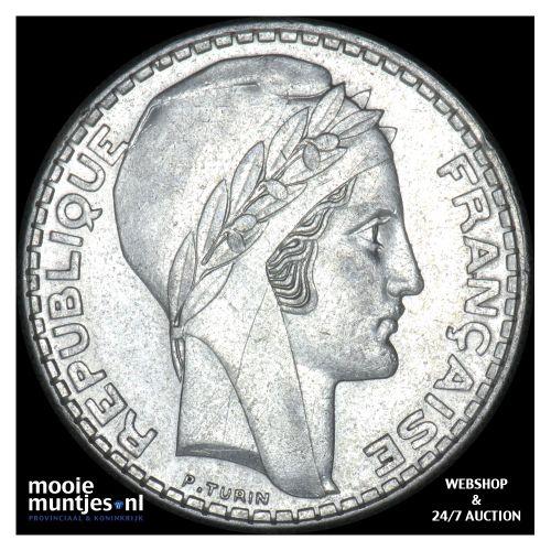 20 francs - France 1934 (KM 879) (kant B)