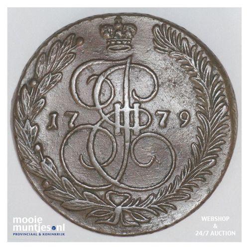 5 kopeks - Russia 1779 (KM C# 59.3) (kant A)
