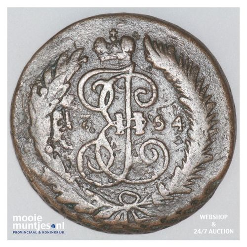 2 kopeks - Russia 1764 (KM C# 58.3) (kant A)