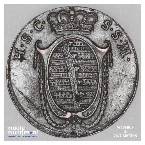 3 pfennig - German States/Saxe-Coburg-Saalfeld 1808 (KM 132) (kant B)