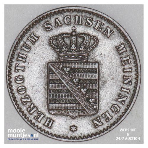 2 pfennig - German States/Saxe-Meiningen 1865 (KM 171) (kant B)