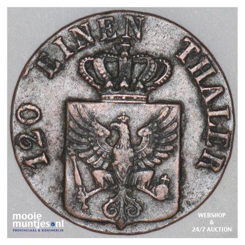 3 pfennig - German States/Prussia 1840 D (KM 407) (kant B)
