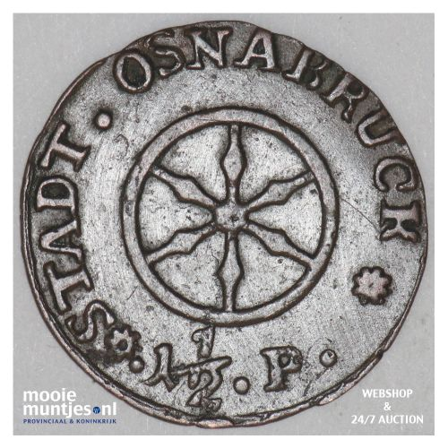 1-1/2 pfennig - German States/Osnabruck 1805 (KM 284) (kant B)