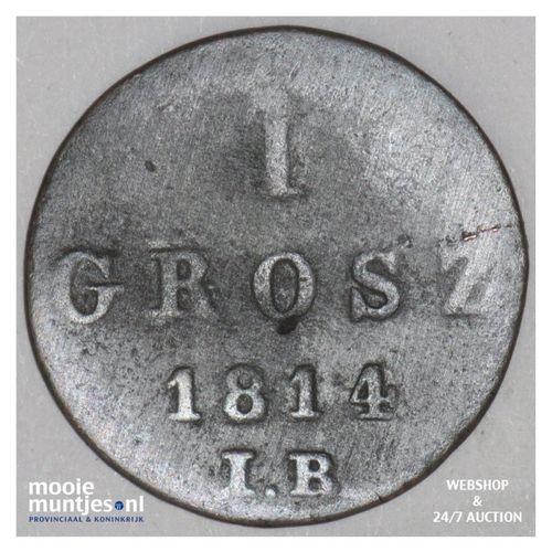 grosz - Poland 1814 (KM C# 81) (kant A)