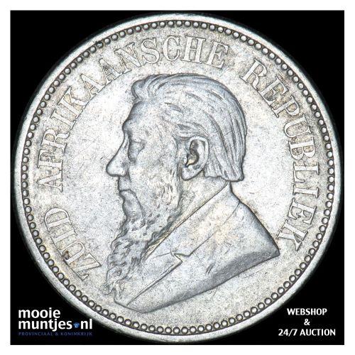 2-1/2 shillings - South Africa 1894 (KM 7) (kant B)