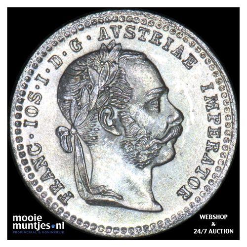 10 kreuzer - Austria 1872 (KM 2206) (kant B)