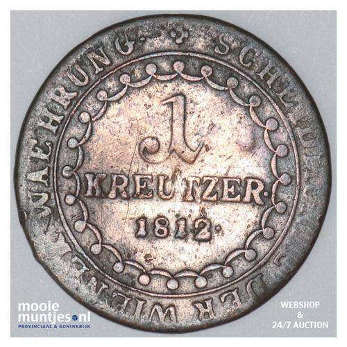 kreuzer - Austria 1812 S (KM 2112) (kant A)