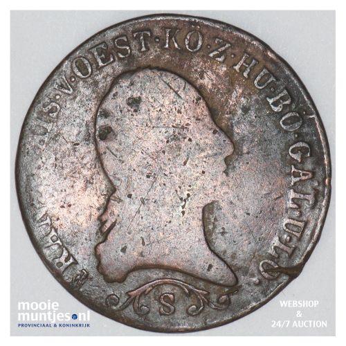 kreuzer - Austria 1812 S (KM 2112) (kant B)
