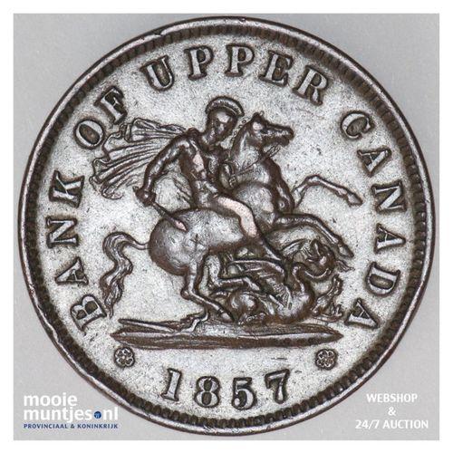 penny - Canada/Upper Canada 1857 (KM Tn3) (kant A)