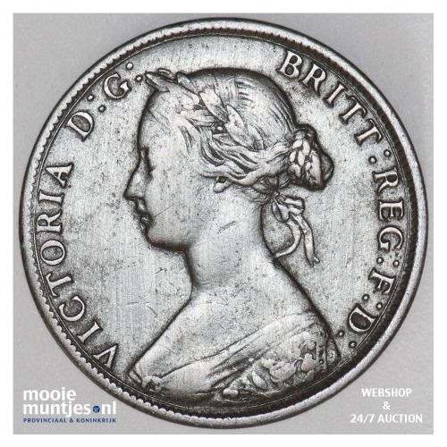 cent - Canada/New Brunswick 1861 (KM 6) (kant B)