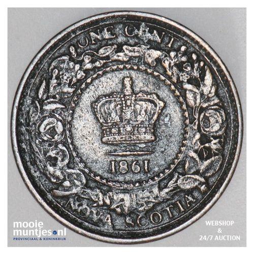 cent - Canada/Nova Scotia 1861 (KM 8.2) (kant A)