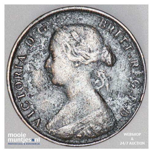 cent - Canada/Nova Scotia 1861 (KM 8.2) (kant B)