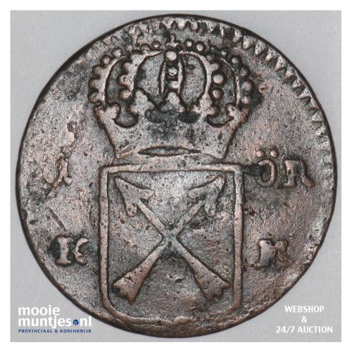 ore (S.M.) - Sweden 1719 (KM 364.1) (kant B)
