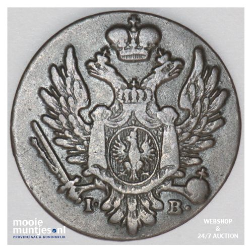grosz - Poland 1823 (KM C# 94) (kant B)