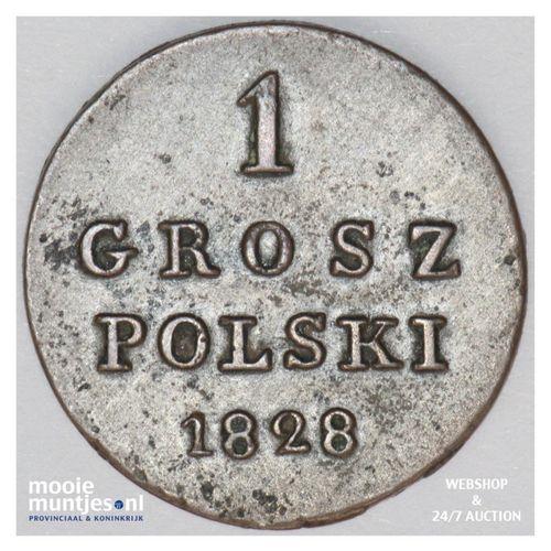 grosz - Poland 1828 (KM C# 105) (kant A)