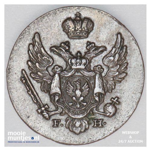 grosz - Poland 1828 (KM C# 105) (kant B)